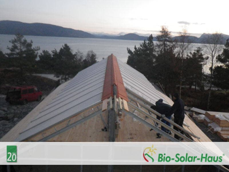 Bio-Solar-Haus in Norwegen