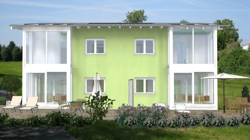 Doppelhaushälfte Bauen Viel Wohnfläche Auf Wenig Grundstück