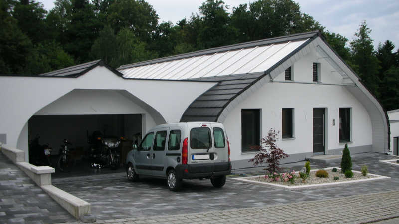 Stahl-Holzhaus, Bungalow 13419