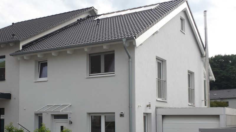Holzhaus, Doppelhaus - 13638