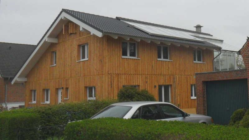 Holzhaus, Einfamilienhaus - 10287