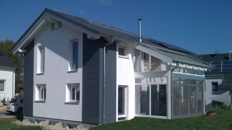 Holzhaus, Einfamilienhaus - 10351