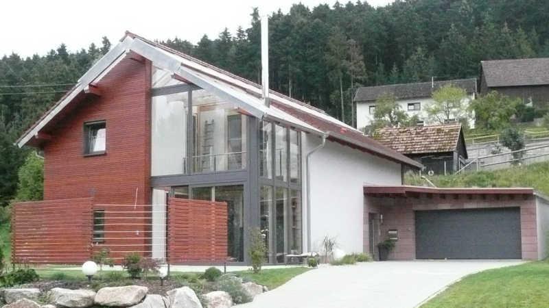 Holzhaus, Einfamilienhaus - 10534