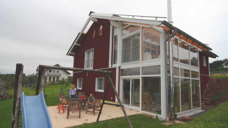 Holzhaus, Einfamilienhaus - 10948