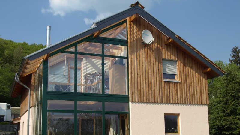 Holzhaus, Einfamilienhaus - 10955