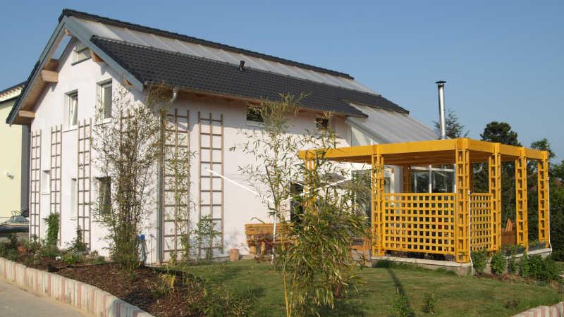 Holzhaus, Einfamilienhaus - 11461