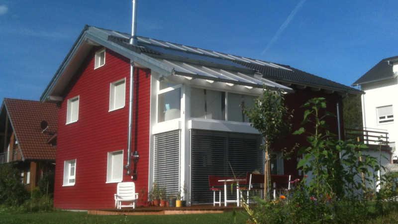 Holzhaus als Ausbauhaus: günstig bauen | Bio-Solar-Haus