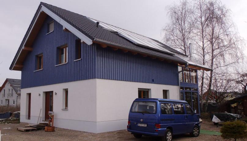Holzhaus, Einfamilienhaus - 12223