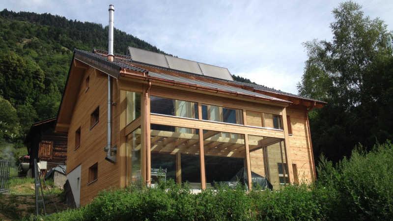 Holzhaus, Einfamilienhaus - 12277