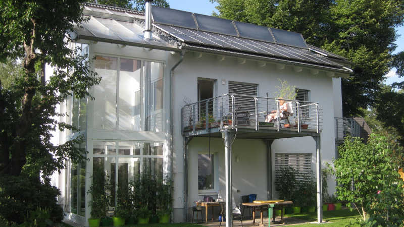 Holzhaus, Einfamilienhaus - 12347