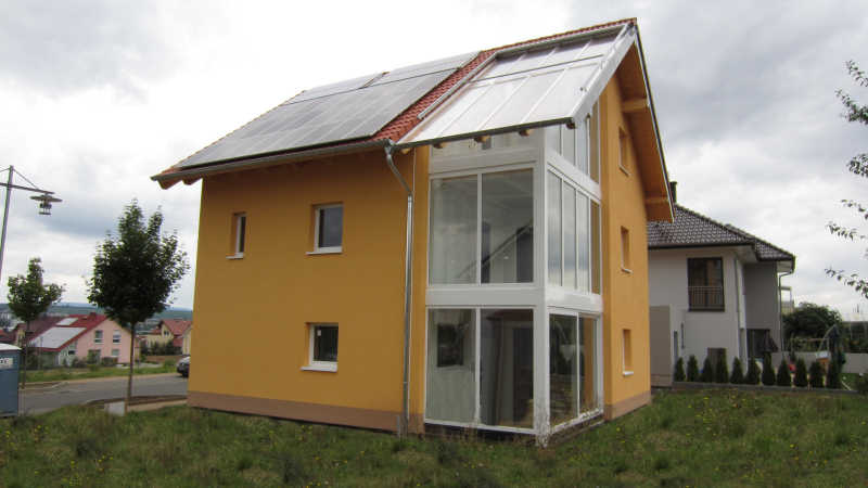 Holzhaus, Einfamilienhaus - 12743