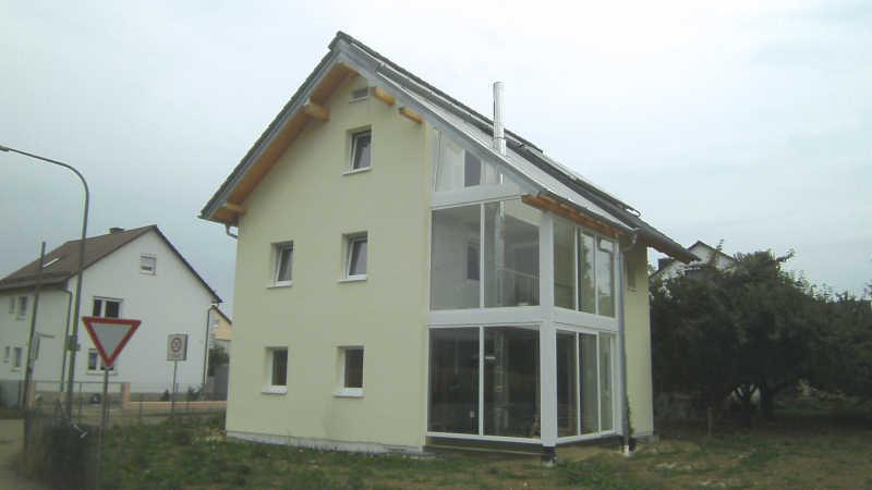 Holzhaus, Einfamilienhaus - 12829