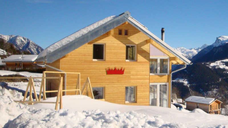 Holzhaus, Einfamilienhaus - 13238
