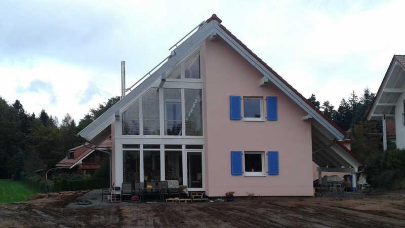 Holzhaus, Einfamilienhaus - 13444
