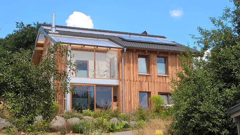 Holzhaus, Einfamilienhaus - 13682