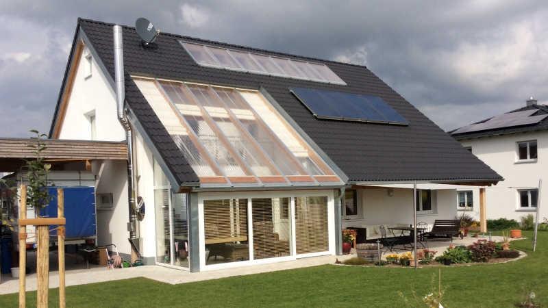 Holzhaus, Einfamilienhaus - 13868