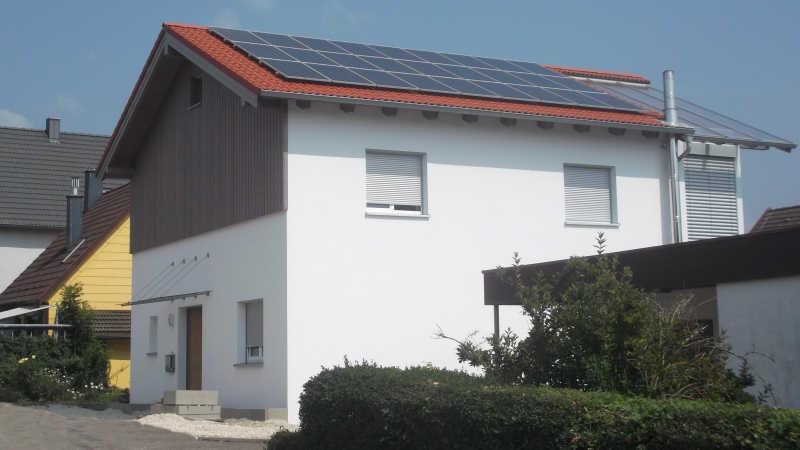 Holzhaus, Einfamilienhaus - 13963