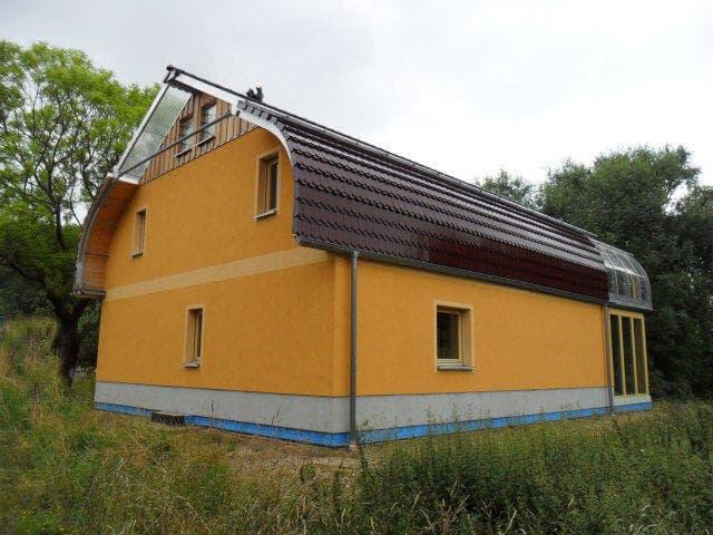 Stahl-Holzhaus, Einfamilienhaus - 10063