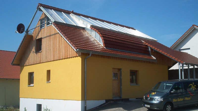 Stahl-Holzhaus, Einfamilienhaus - 10080
