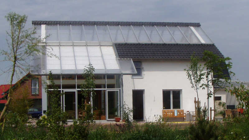 Stahl-Holzhaus, Einfamilienhaus - 10100