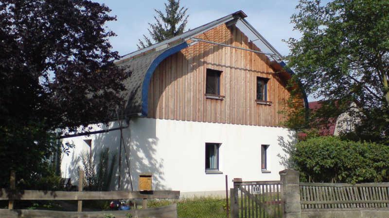 Stahl-Holzhaus, Einfamilienhaus - 10113