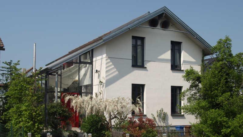 Stahl-Holzhaus, Einfamilienhaus - 10118