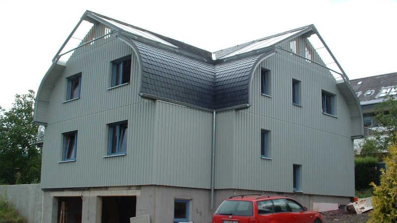 Stahl-Holzhaus, Einfamilienhaus - 10119