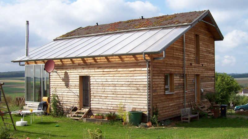 Stahl-Holzhaus, Einfamilienhaus - 10132