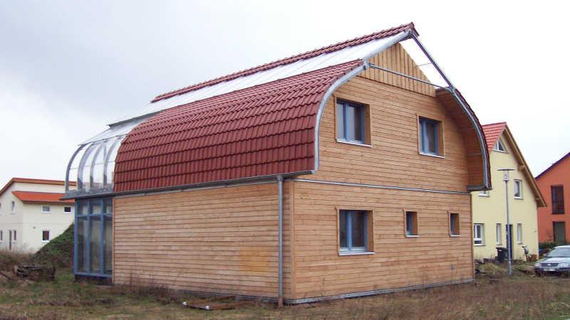 Stahl-Holzhaus, Einfamilienhaus - 10150