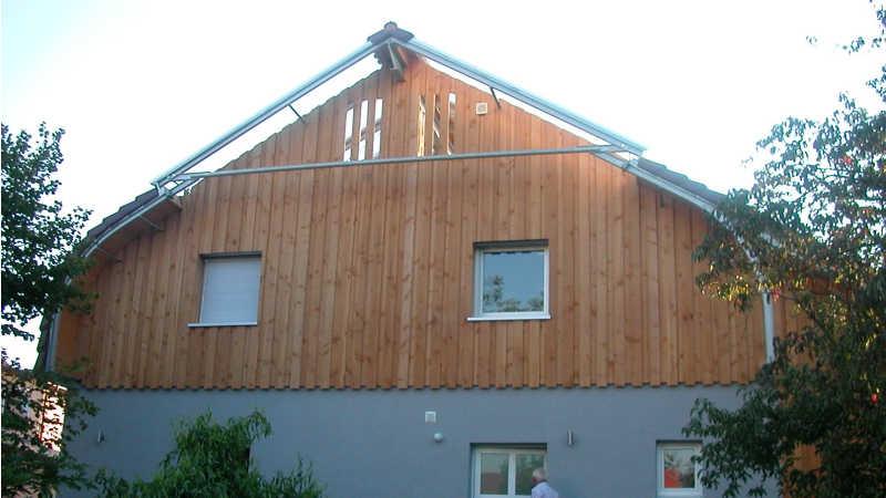 Stahl-Holzhaus, Einfamilienhaus - 10163