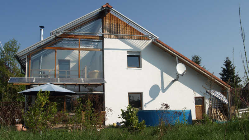 Stahl-Holzhaus, Einfamilienhaus - 10178