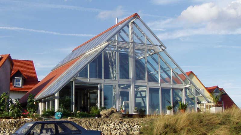 Stahl-Holzhaus, Einfamilienhaus - 10180