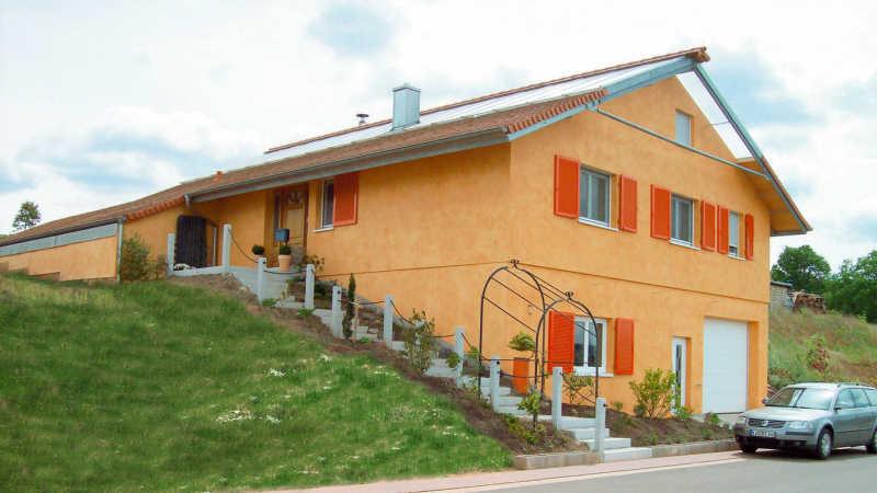 Stahl-Holzhaus, Einfamilienhaus - 10232