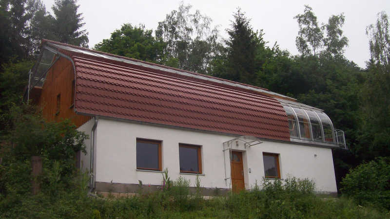 Stahl-Holzhaus, Einfamilienhaus - 10324