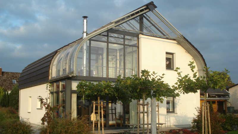 Stahl-Holzhaus, Einfamilienhaus - 10426