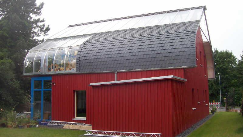 Stahl-Holzhaus, Einfamilienhaus - 10433