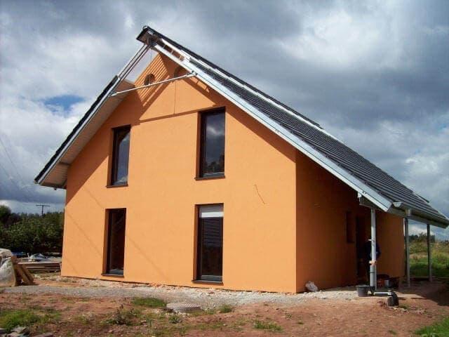 Stahl-Holzhaus, Einfamilienhaus - 10636