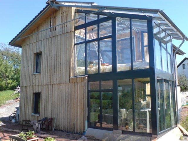 Stahl-Holzhaus, Einfamilienhaus - 10684
