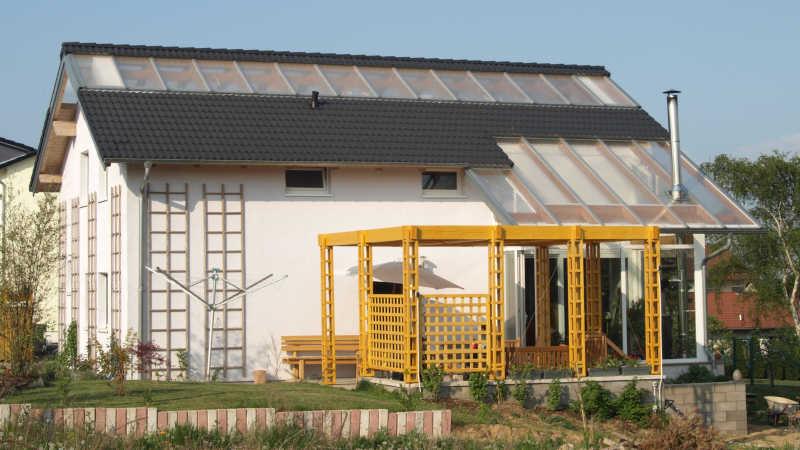 Stahl-Holzhaus, Einfamilienhaus - 11461