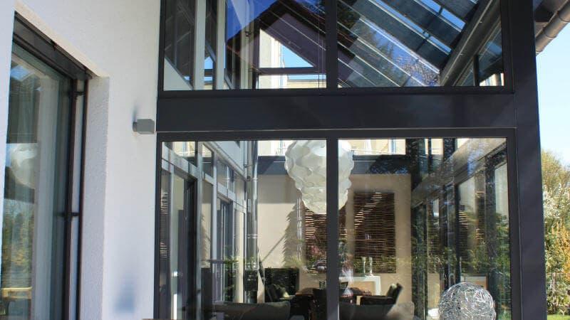 Bungalow oder Einfamilienhaus mit Wintergarten bauen